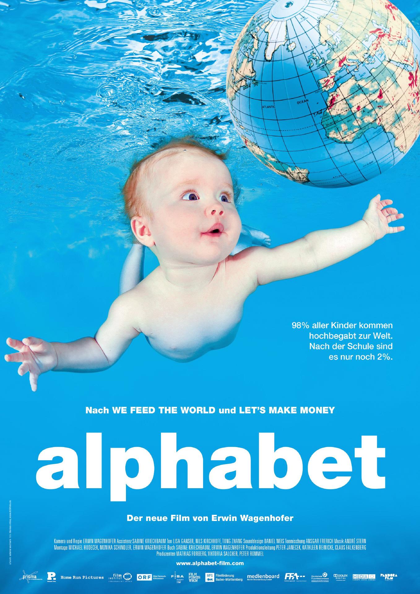 Alphabet, Film Cover